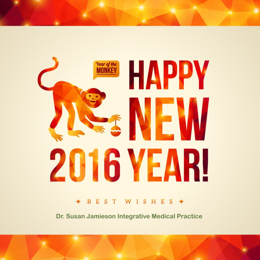 Happy New Year From Dr Susan Jamieson Medical Practice